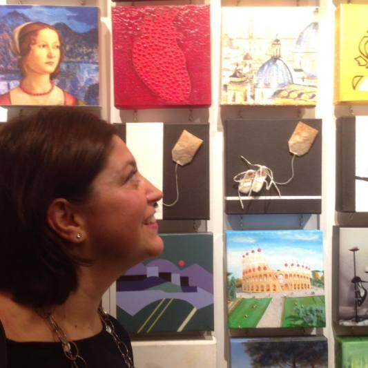 Mosaic Arte Borgo Gallery Roma 2016