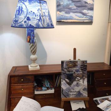 """Allestimento Mostra """"Percezioni d'Acqua -Galleria Arte Studio -Ge"""