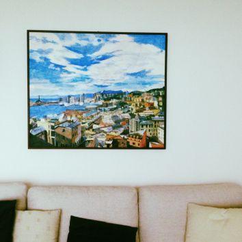 Progetto in appartamento -Salotto