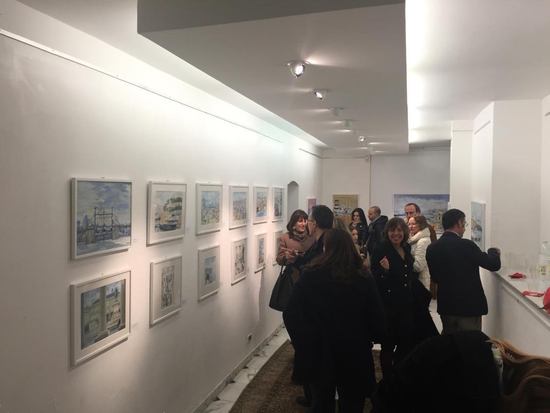 Foto Inaugurazione nella Galleria Arte Studio 3 Dicembre 2015