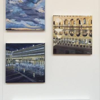 """Allestimento """"Chiostro dei Frari """"Venezia"""
