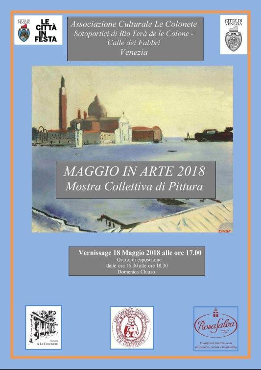 """Manifesto """"Maggio in Arte 2018"""""""