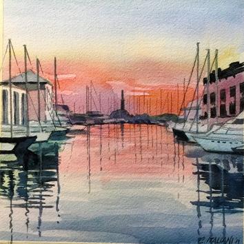 10 Il Porto Antico dal jolly Marina 20 x 0 cm